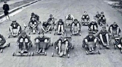 old billy carts